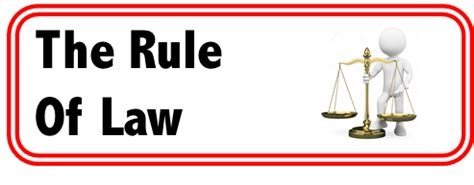 Legal essay on rule of law